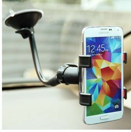 Discount cup holder stick - Universal Windshield Car Phone Stand Support Suction cup Stent Mount Window stick Smartphone cell Mobile Phone holder