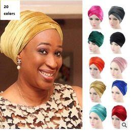 409273bd938 Velvet hats Soft Indian Style Yoga Headwrap Cap Turban Moslem Hat Cloche Chemo  Hair Cover Arabian Head Wrap Cap 43