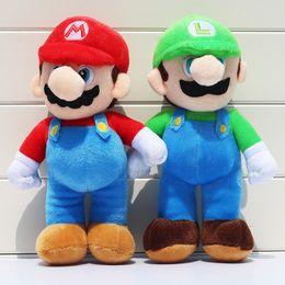 Red Figures Australia - Game 25cm Super Mario Bros Luigi Yoshi Soft Plush Toys Cosplay Figure Runing Yoshi Animal Dolls Toys Peluches bebe