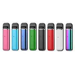 Новостные комплекты Novo Pod с аккумулятором 450 мАч Портативный стартовый комплект системы Vape Pod с 2 мл пустыми картриджами и комплектом Nord