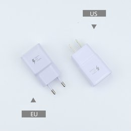 Charger Samsung Quality Australia - High Quality 5V 2A 9V 1.67A Adaptive US EU Plug Fast Charging Travel Wall Charger For Samsung Galaxy S7 Edge S8 S9 Plus Note 8 Note 9