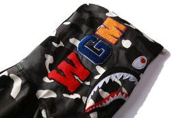 $enCountryForm.capitalKeyWord Australia - Mens Designer Hoodie Hip Hop Brand Zipper Jacket Hoodie For Youth Streetwear Sweater Men Fashion Style Star Shark Embroidery Hooded Coat