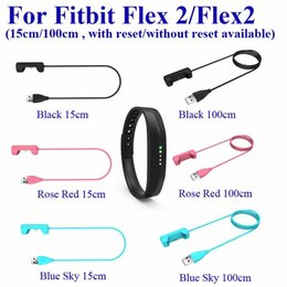 fitbit flex cable Australia - 15cm Length For Fitbit Flex2 Flex 2 Smart Bracelet Wristband Replacement Charging Cable USB Power Charger Cord Free DHL Shipping