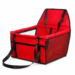 Dog Cars Australia - Pet Dog Carrier Pad Safe Carry House Cat Puppy Bag Dog Car Seat Waterproof Dog Seat Bag Basket Pet Products