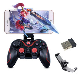 Tablet Wireless Controller Australia - Bluetooth game controllers Game Wireless Gamepad Joystick for IOS Android Smartphone Tablet PC TV Game Remote Controller handle