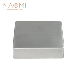 Effects Pedals Australia - NAOMI Guitar Effects Box Aluminium Stomp Box Guitar Effect Pedal Case Storage Holder Guitar Parts & Accessories