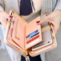 $enCountryForm.capitalKeyWord Australia - Wallet Female Women's Wallet Snap Coin Purse Phone Bag Bow Multi-card Bit Card Holder Purse Women Billetera Mujer