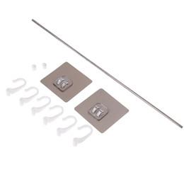 $enCountryForm.capitalKeyWord Australia - 1set Kitchen Cupboard 6 Hooks Towels Hanger Wardrobe Rack Storage Shelf 38.5*7cm Home Pantry Tools