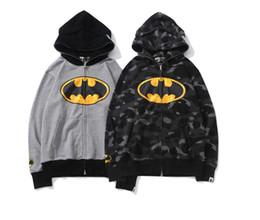 $enCountryForm.capitalKeyWord Australia - New Deluxe Japanese Chao Brand Manwei Joint-name Cooperative Batman cardigan jacket Autumn and Winter new wool hoop guard jacket