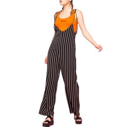 Overalls Jumpsuits For Women NZ - Feitong Combinaison Femme elegantes plus size S-XXL Ladies sling striped loose wide leg pants jumpsuit overalls for women 2019