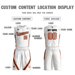 $enCountryForm.capitalKeyWord Canada - Custom personality Basketball Jersey Short Pants Men's Youth Sleeveless college Jerseys Basketball uniform Sets jersey free shipping sportsw