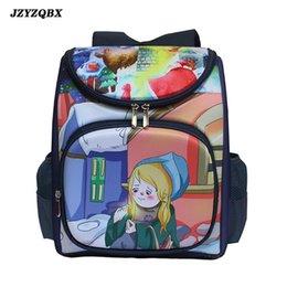 Discount little backpacks for girls - The Little Match Girl School Bag Multi Pocket Backpack Children's School mochila Backpack For Girls