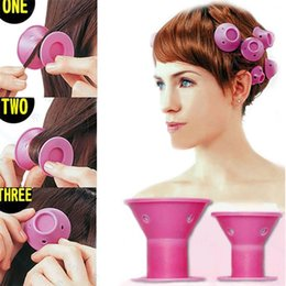$enCountryForm.capitalKeyWord Australia - Hairstyle Soft Hair Care DIY Peco Roll Hair Style Roller Curler Salon 10pcs lot Hair Accessories Bestselling and New Fashion