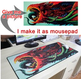 Mouse pads custoM online shopping - Mairuige Large sizes DIY Custom Mouse pad mat Anime gaming mousepad L XL game Customized NO Lock Edge mouse pad for CS GO DOTA