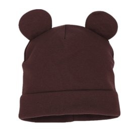 baby boy wool hats 2020 - New Spring Autumn Baby Hat Cute Ear Cotton Boys Girls Cap Scarf Infant Hats Casual Kids Knitted Cap Winter Children Hat