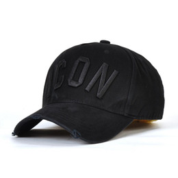 $enCountryForm.capitalKeyWord UK - 2019 popularICON baseball caps hats brand icon Cotton Embroidery hats for men 6 panel Black snapback hat men casual visor gorras bone casque