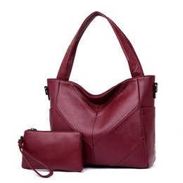 Hand Bags Sets Australia - 2019 New Arrival Crossbody Bags For Women Soft Leather Handbags Women Bags Designer Ladies Hand Bags Tote 2 Pcs Set