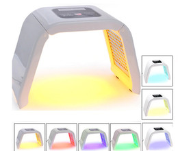 Wholesale 7 Light LED Facial Mask OMEGA Light Photon Therapy Machine For body face skin rejuvenation Acne Freckle Removal salon beauty