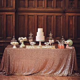 $enCountryForm.capitalKeyWord Australia - 100x150cm 120x180cm Sparkling Sequin Tablecloth Wedding Party Gold Silver Champagne Cloth Decoration Bling Table Cover Q190603
