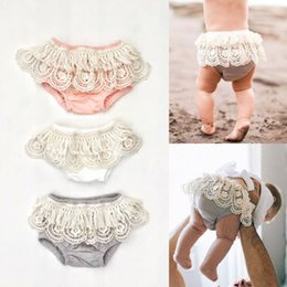 Toddler Ruffle Underwear Australia - Adoeable Toddler Newborn Baby Girl Underwear Ruffle Frilly PP Pants Nappy Cover Pettiskirt Diaper 0-24M