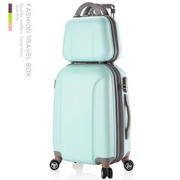 """24 Inch Bag Australia - 12""""20""""22""""24""""26""""28"""" inches carry-on Suitcase on wheels Girl and kids pink luggage bag travel bag trolley case women cosmetic"""