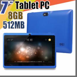 "$enCountryForm.capitalKeyWord Australia - 20X Allwinner A33 Quad Core Q88 Tablet PC Dual Camera 7"" 7 inch capacitive screen Android 4.4 512MB 8GB Wifi Google play store flash C-7PB"