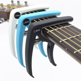 $enCountryForm.capitalKeyWord NZ - Plastic Guitar Capo for 6 String Acoustic Classic Electric Guitarra Tuning Clamp Musical Instrument Accessories