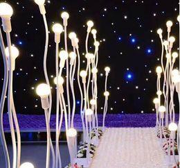 Chinese  Five pillars LED wedding road leap lamp Modern Design wedding light road lead walkway lead road LED lights manufacturers
