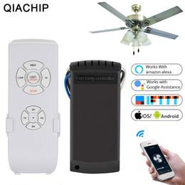 $enCountryForm.capitalKeyWord Australia - QIACHIP Ceiling Fan Smart Switch Convert Fan Wifi Smart Control Adjust Speed Dimmer Controller Works With Alexa Google Home