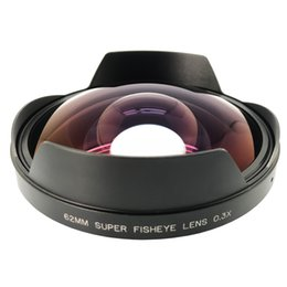 KAPKUR 0.3X Fisheye SLR Camera Add-on Lens Rear Mount Dia. on Sale