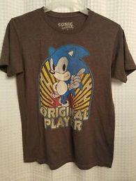 $enCountryForm.capitalKeyWord Australia - Sonic The Hedgehog Graphic T Shirt Adult Size Medium Sega Original Player Brown