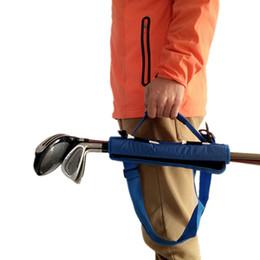 Value Packs Australia - Golf Club Bag Carrier Driving Range Travel Gfit Color Black Blue Pink for Kids Men Women Value Pack