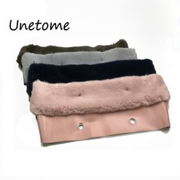 Wholesale Unetome New Plush Trim For O Bag Thermal Plush Decoration Fur Fit For Classic Big Mini Obag Women Bag J190509