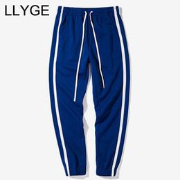 $enCountryForm.capitalKeyWord Australia - Spring Patchwork Color Mens Sweatpants 2018 Casual Loose Drawstring Elastic Waist Trousers Autumn Male Fashion Jogger Pants