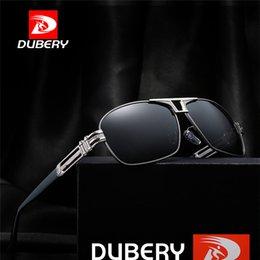Magnesium Coating Australia - DUBERY Aluminum Magnesium Men's Sunglasses Polarized Coating Mirror Sun Glasses gafas Male Square Eyewear Accessories For Men