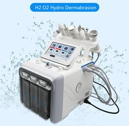 spray device beauty NZ - 6 in 1 H2 O2 Hydra Facial Dermabrasion Hydro Microdermabrasion Peeling Vacuum Skin Cleaning Water Aqua Oxygen Spray Device Beauty Machine