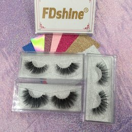 Wholesale Invisible Clear Band Mink Lashes D Mink Eyelashes with Packaging Hand Made False Eye Lash G EASY