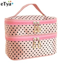 $enCountryForm.capitalKeyWord Australia - eTya women Portable Travel Cosmetic Bag Storage Toiletry Organizer Makeup Wash Case eTya New Brand Gift Travel Make Up Kit