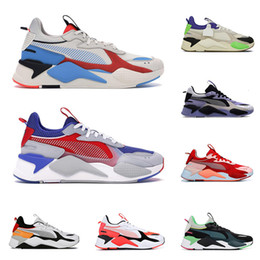 spring tracking Canada - Hot RS-X Reinvention Toys men women running shoes BRIGHT PEACH Tracks Sankuanz Lavender mens trainers outdoor sports sneakers size 36-45