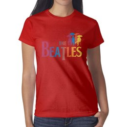Colorful Tees Australia - The Beatles Colorful Rock Pop red t shirt,shirts,t shirts,tee shirts shirt design cool t designer custom athletic t shirt
