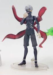 $enCountryForm.capitalKeyWord Australia - NEW hot 16cm Tokyo Ghoul Kaneki Ken generation of dark Jin Muyan movable action figure toys collection
