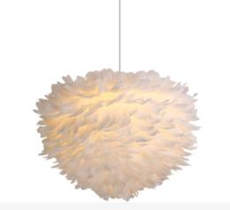 girls bedroom chandelier 2019 - Bedroom chandelier warm romantic creative living room lamp ins girls bedroom children room personality feather Chandelie