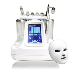 Wholesale 7 in 1 bio rf hammer hydro microdermabrasion 5 in 1 water hydra dermabrasion 6 in 1 spa facial skin pore cleaning machine