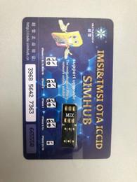 Vente en gros Brand New Blackcard ICCID Modèle Unlock V1.36 pour iPhone Installation facile Unlocking IOS 13 Logiciel OTA Prix de l'usine pour XR XSMAX