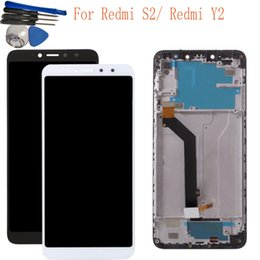 "Lcd Touch Screen S2 Australia - 5.99"" For Xiaomi Redmi S2 Y2 LCD Display Touch Screen Digitizer Assembly With Frame LCD Screen Display +tools"