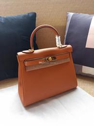 $enCountryForm.capitalKeyWord Australia - Best quality casual Totes bags 25cm 28cm 32cm women Genuine leather Bags Fashion lady Handbag Factory wholesale In Stock Real Image