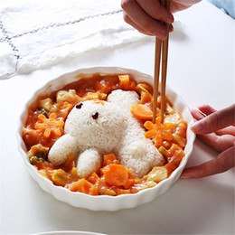 $enCountryForm.capitalKeyWord NZ - High Quality 4Pcs set Easily Bear DIY Dolphins Rabbit Chicken Shape Rice Ball Sushi Bread Sandwich Cake Cookie Mold