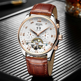 $enCountryForm.capitalKeyWord Australia - High quality top brand mens watches Luxury designer mechanical automatic Leather band Diamond dial daydate wrist watch for men male relogios