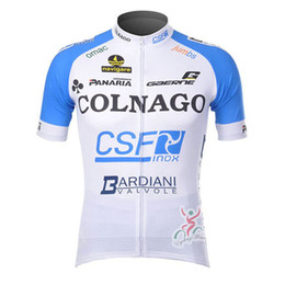 Wholesale Factory direct sale COLNAGO summer cycling Jersey men bicycle clothes breathable quick dry outdoor racing bike shirt