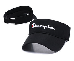 $enCountryForm.capitalKeyWord UK - 2019 new designer golf hat sun visor sunvisor party hat baseball cap sun hats sunscreen hat Tennis Beach elastic hats free shipping